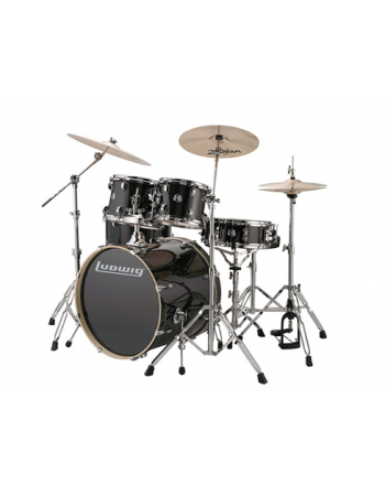 ludwig-evolution-lcee22016-5-pc-black-sparkle-w22-bd