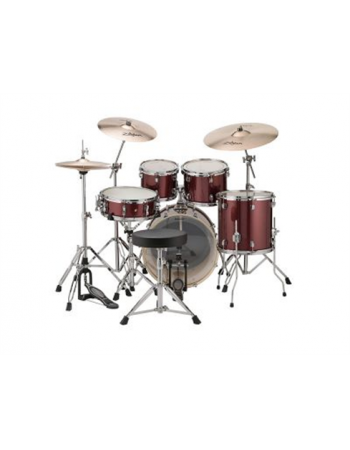 ludwig-evolution-maple-red-burst-lcem622xrf